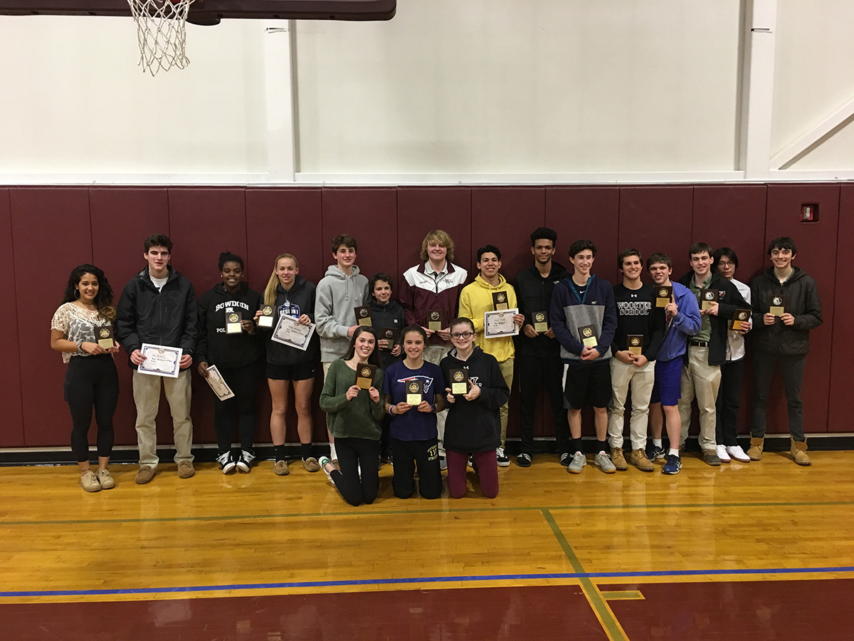 Winter Sports Award Winners 2018